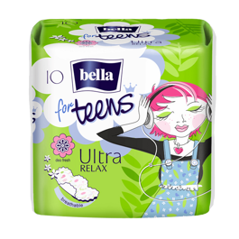 Bella for teens Relax 10 шт