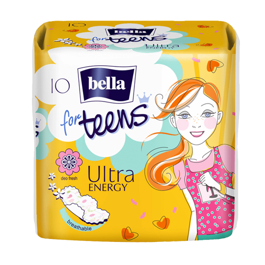 Bella for teens Energy 10 шт